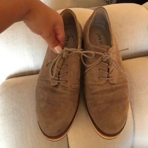 Taupe Vince Camuto Loafers